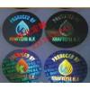激光标签丝印字 镂空洗铝防伪标签 激光全息防伪标